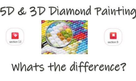 5D and 3D Diamond Painting – whats the difference?