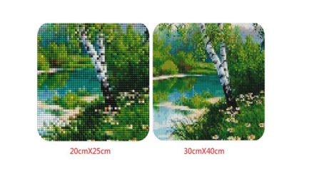 Size matters for Diamond Painting