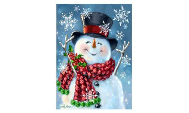 Week 52 – Happy snowman