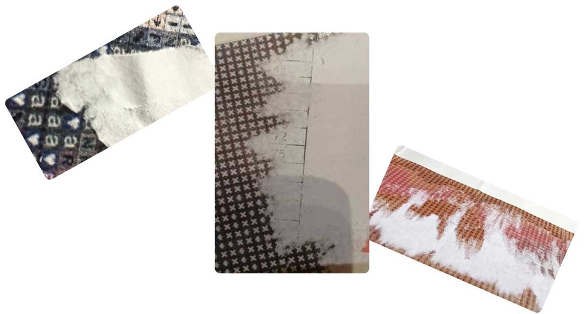 Paper stuck in the glue – how to remove it