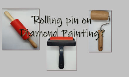 Rolling pin on a Diamond Painting what for?