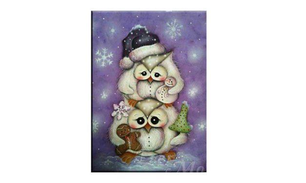 Week 48 – Christmas owls