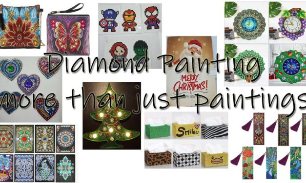 Diamond Painting – More than just Paintings