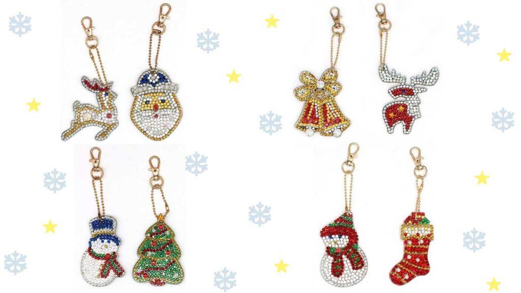 Christmas themed key-chains