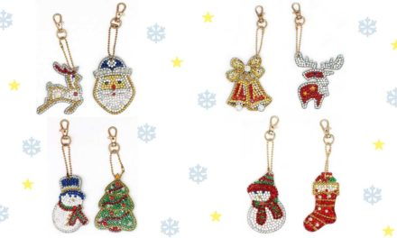 Week 47 – Christmas themed key-chains