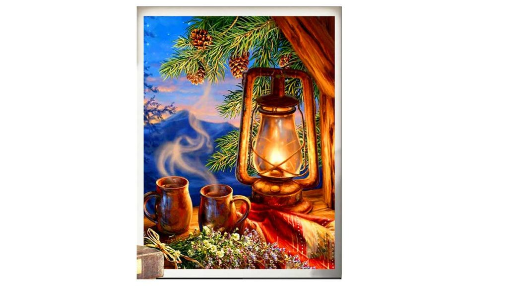 Lantern and cups