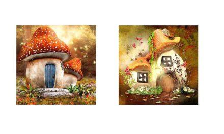 Week 13 – Mushroom houses