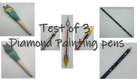 Test of 3 Diamond Painting pens