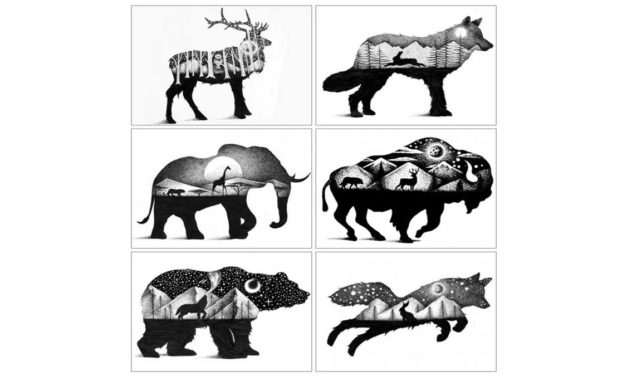 Week 21 – Animal silhouettes