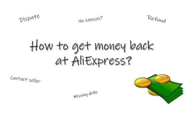 Money back at AliExpress