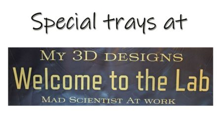 Special trays for Diamond Painting