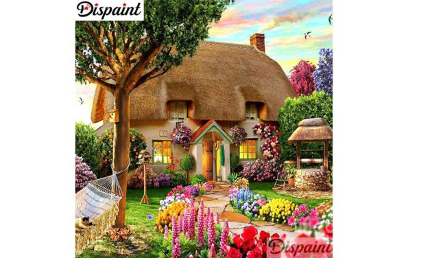 Week 29 – House surrounded by flowers