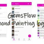 Gemsflow – Diamond Painting logbook