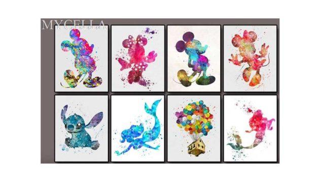 Week 38 – Colorful Disney characters
