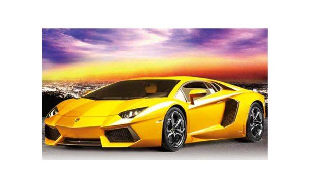 Week 46 – Yellow sports car