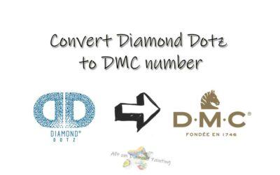 Diamond Dotz to DMC number