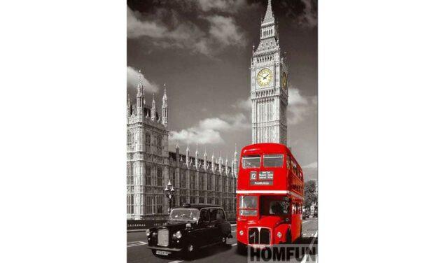 Week 3 – Double decker bus in London