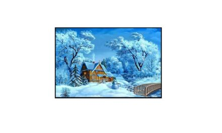 Week 1 – House in a snowy blanket