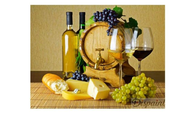 Week 4 – Wine and cheese