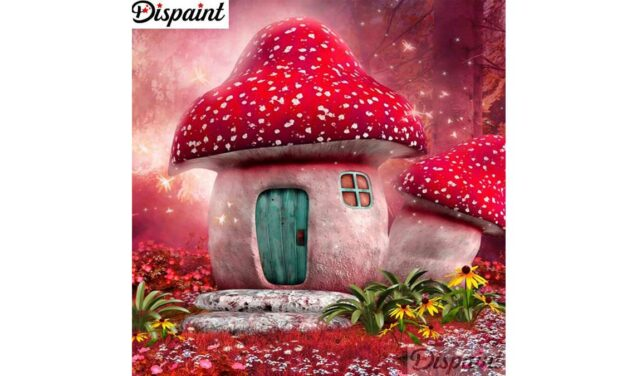 Week 8 – Fly agaric house