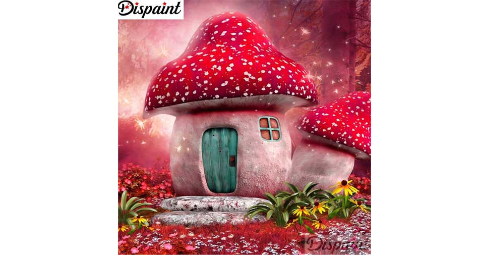 fly agaric house
