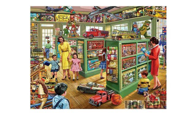 Week 7 – Toy store
