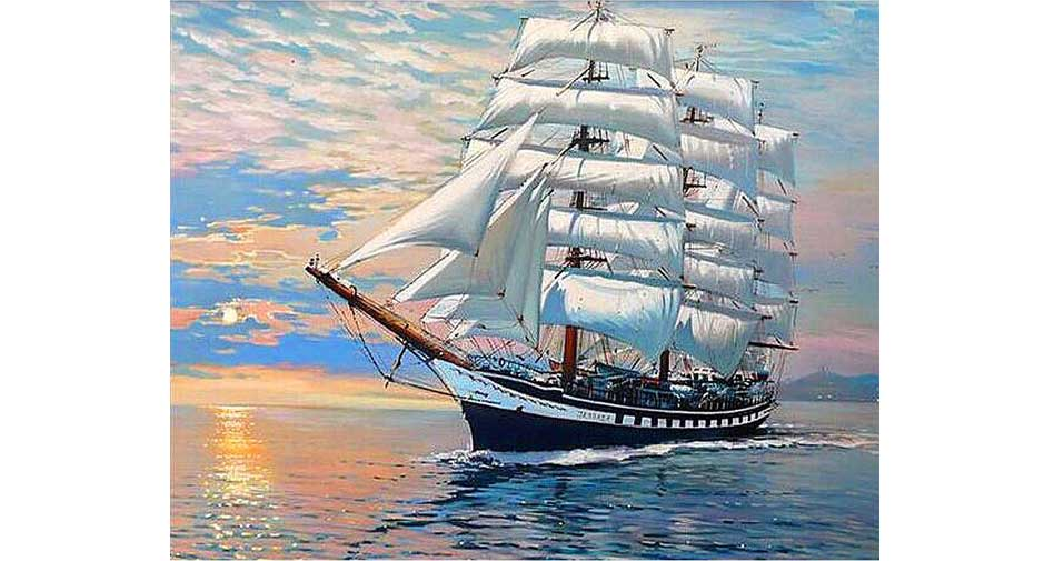 A grand ship