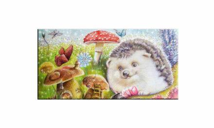 Week 30 – Hedgehog and mushroom houses