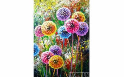 Week 28 – Dandelions in different colors