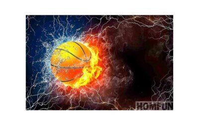 Week 43 – Burning basketball