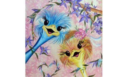 Week 41 – Happy ostriches